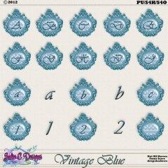 Vintage Blue Alpha