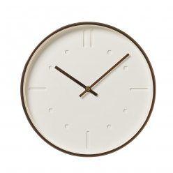 Home Republic Malmo Clock White, copper clock, white clock
