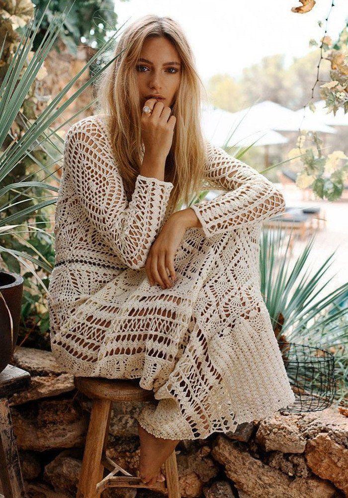 flook the label maya crochet maxi dress-1