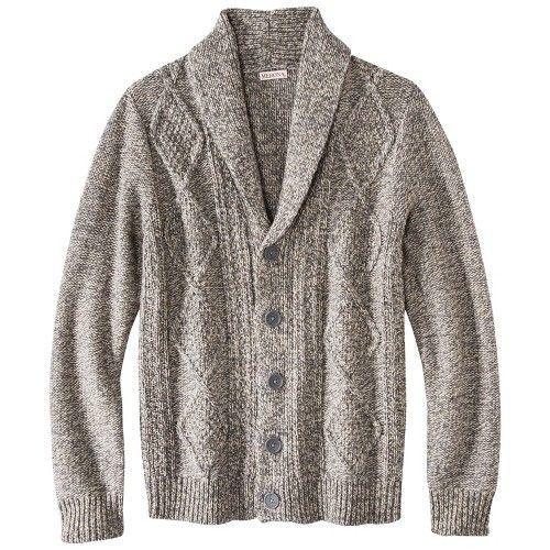 Merona® Men's Shawl Collar Cardigan - Assorted Colors