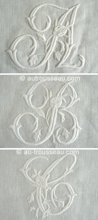 diy embroidery inspiration - initials