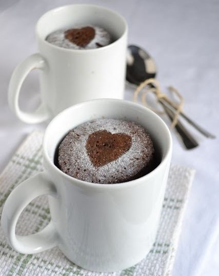 homemade mug cake recipe- thinking teacher gifts using new mugs with the dry mix & include instructions.