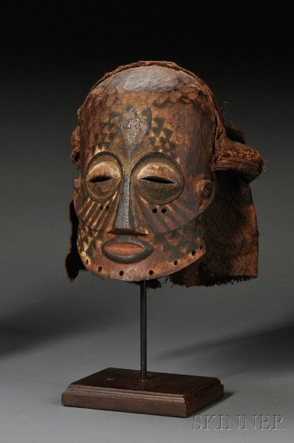 african carvedwood mask sale number 2533b lot number 201 skinner auctioneers