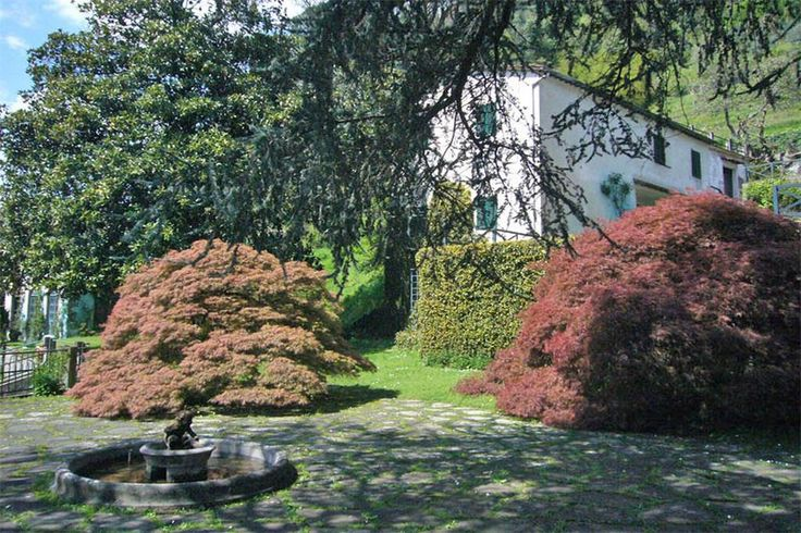 Beautiful villa to be restored  Bagni Di Lucca, Lucca, Italy – Luxury Home For Sale