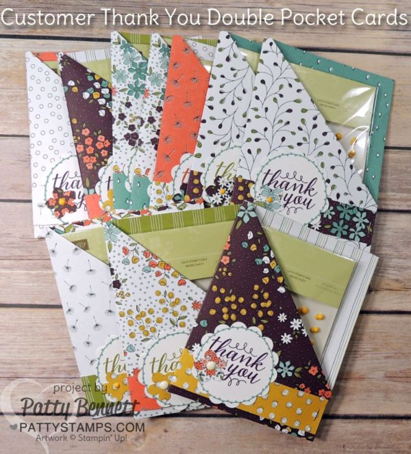 I just love it when Stampin' Up! offers 12x12 designer paper as one of the free Sale a Bration gifts!! This beautiful package of paper has such gorgeous patterns and rich colors!! Did you notice t