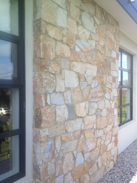 Example of Eco Outdoor random ashlar coolum stone cladding