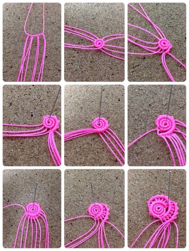 how to macrame knots step by step pdf