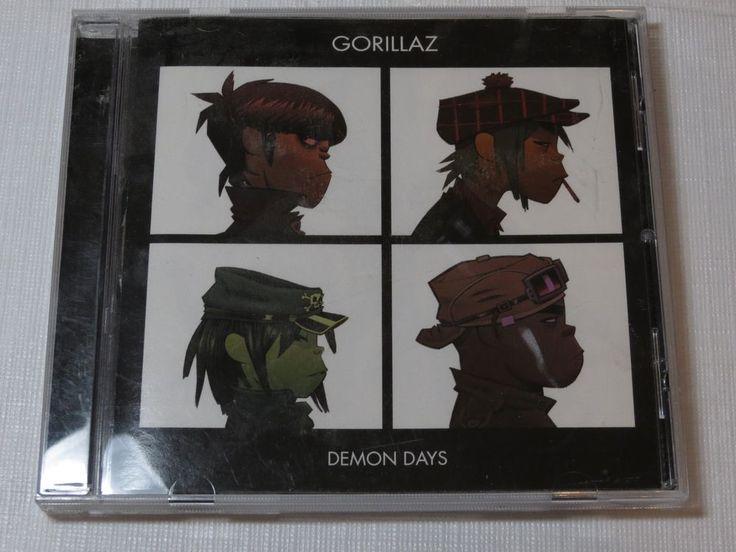Demon Days [PA] by Gorillaz CD 2005 Virgin Records O Green World Dirty Harry #AlternativeIndie