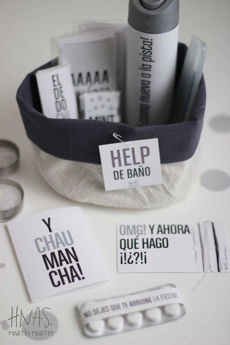 Help de Baño, amenities para toilette de casamiento, canastito de baño