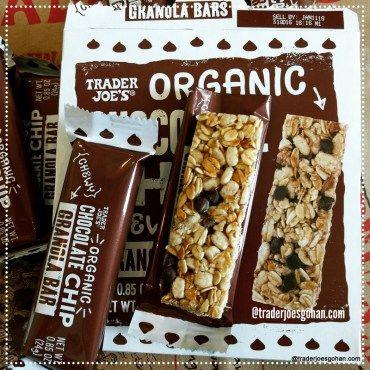 トレジョのオーガニック グラノーラバー Trader Joe's Organic Chocolate Chip Chewy Granola Bars $2.49 | #TraderJoes #Organic #ChocolateChip #Chewy #GranolaBars