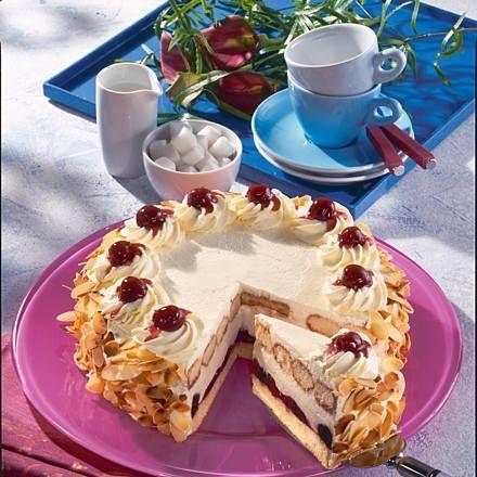 Amarena-Kirsch-Torte Rezept   LECKER