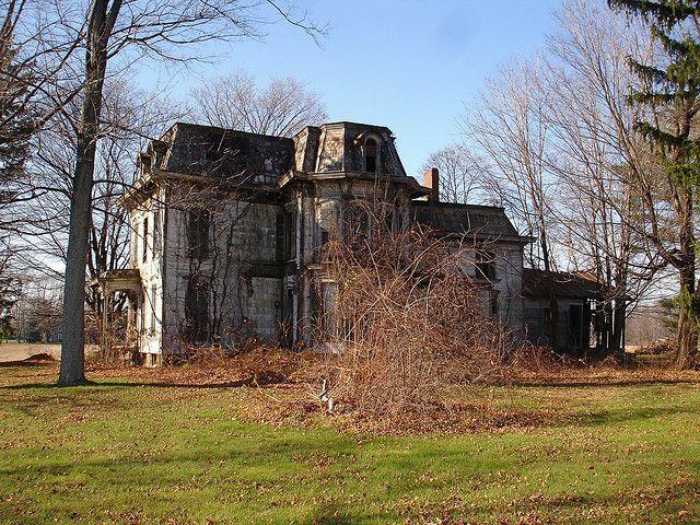 Abandoned Mansion, Milan, OH