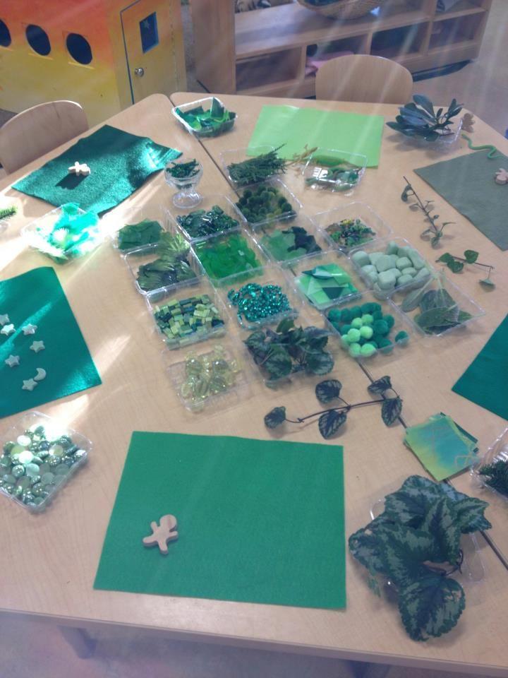 Green provocation -  the Opal Museum Preschool ≈≈