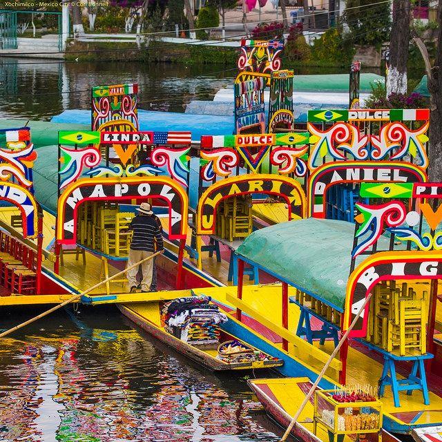 Chinampas of Embarcadero Nuevo Nativitas - Xochimilco