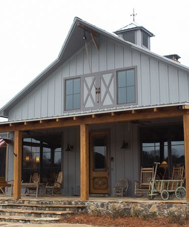 50 best barn homes images on pinterest barn homes for Farm shop with living quarters plans