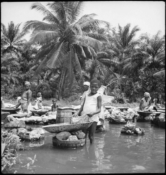 SLA-Schwarzenbach-A-5-25/010 Portugal, San Thomé (São Tomé und Príncipe): Menschen, 1941.05-1942.03 (Dokument)