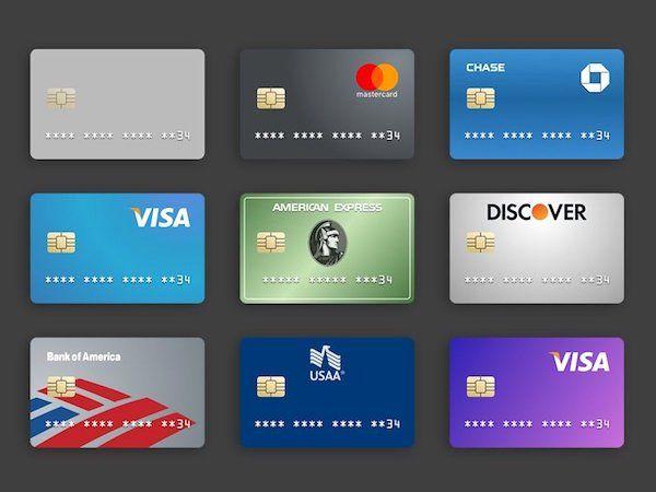 Credit Card Design Template Inspirational Free Sketchapp Credit Card Templates In 2020 Credit Card App Credit Card Design Credit Card Hacks