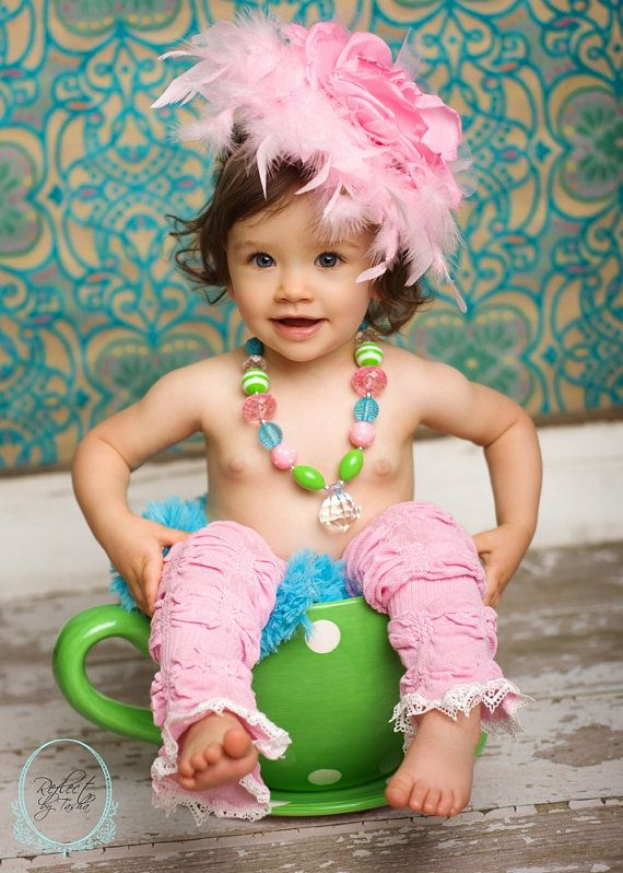 Love the feather!: Candy Clouds, Feathers Boa, Feathers Girls, Baby Leggings, Baby Hairpiec, Clouds Headbands, Accessories Timelesstreasur, Baby Girls, Clouds Feathers