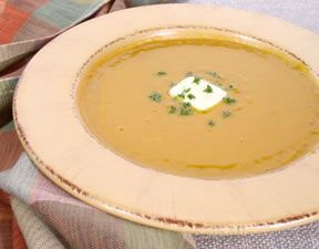 Winter Squash Soup Recipe from RecipeTips.com!