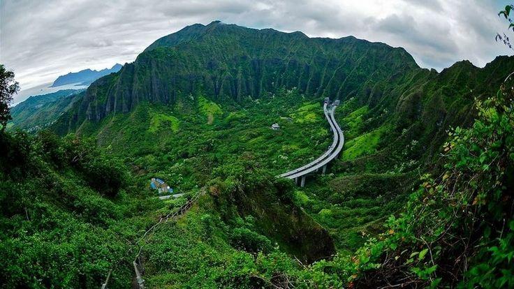 Лестница Хайку на острове Оаху - Путешествуем вместе