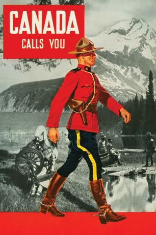 Shop Online For Greeting Cards, Retro Canadiana & - Canadian Culture Thing Postcard - Canada Calls You Retro Canadiana postcard