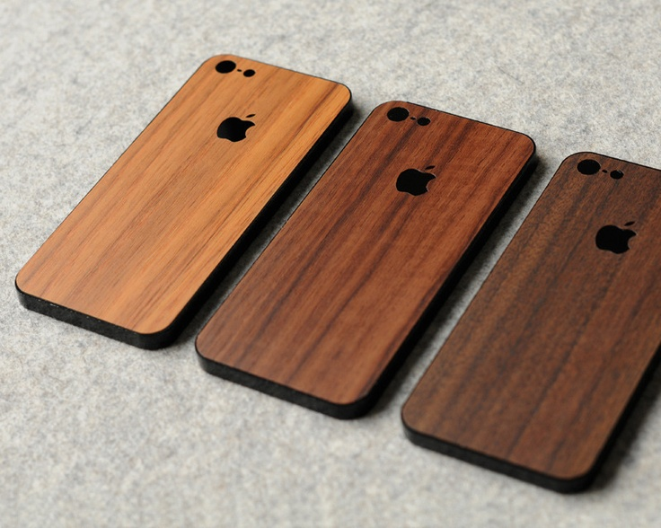 iPhone Wooden Back Protector