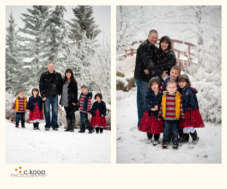 C Koop Photography Now THIS Is Winter Family Photos In The Snow
