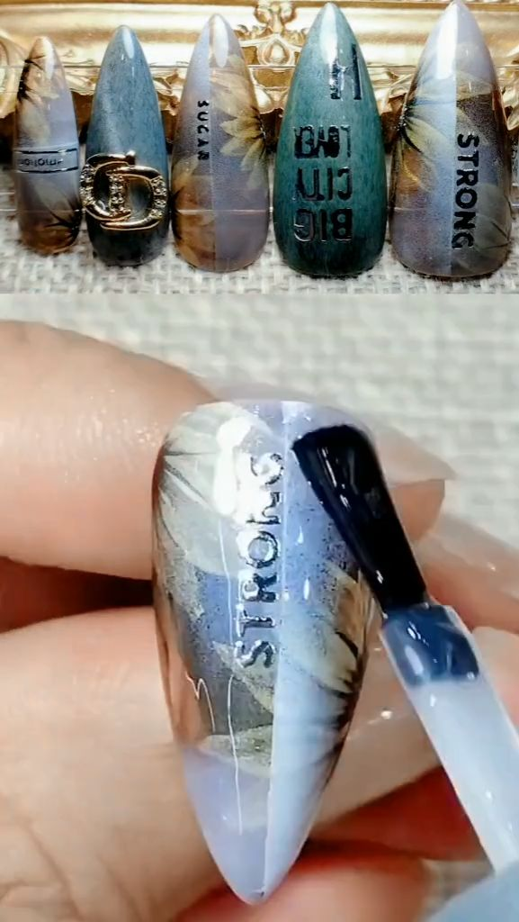 Petal Nail Art 20 Cool Nail Art Ideas & Awesome DIY Nail Designs
