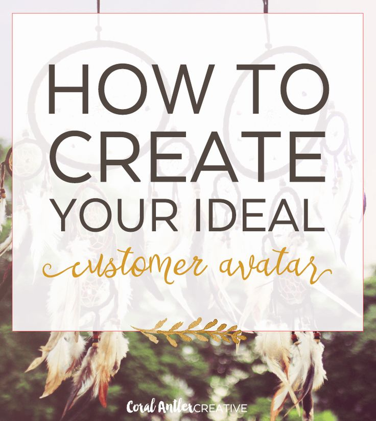 How To Create Your Ideal Customer Avatar | Not sure who your perfect customer is or how to find them? Check out this post for tips on creating the ideal customer avatar.