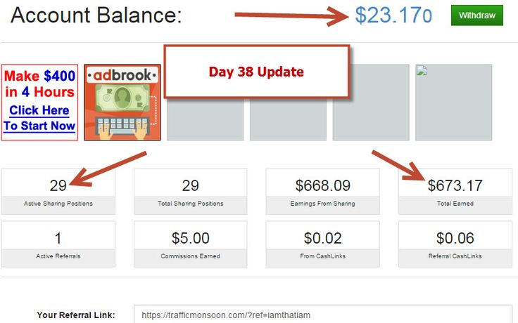 Here's my day 38 earning update with Traffic Monsoon. Watch the video here http://day38.julianlee.biz  Results not typical. This proof of income is not a guarantee you would earn the same, but would be possible to earn this and more with equal or greater strategy and work ethic.  #trafficmonsoon  #trafficmonsoonreview #trafficmonsoonupdate #trafficmonsoonadvertiting #trafficmonosoonopportunity