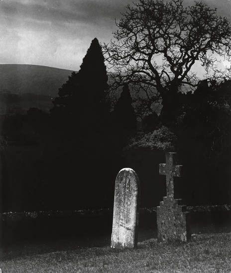 Untitled (Cemetery) by Bill Brandt (© circa 1950)