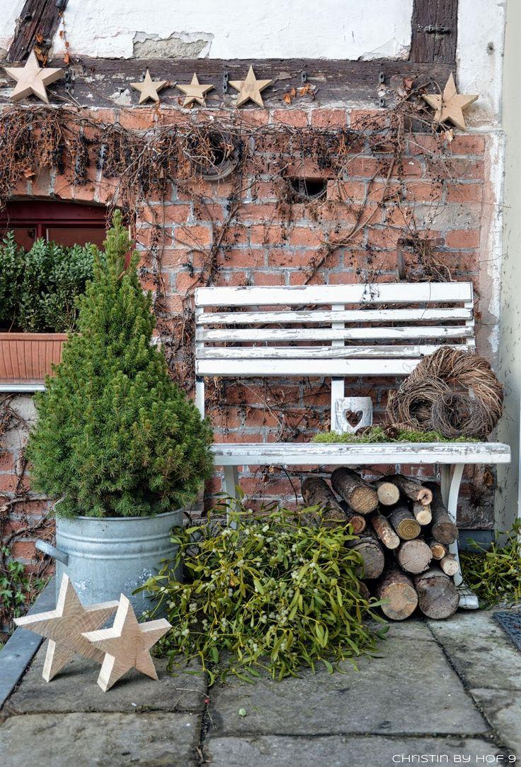Die besten 25 weihnachtlich dekorieren hauseingang ideen - Winterliche dekoration ...