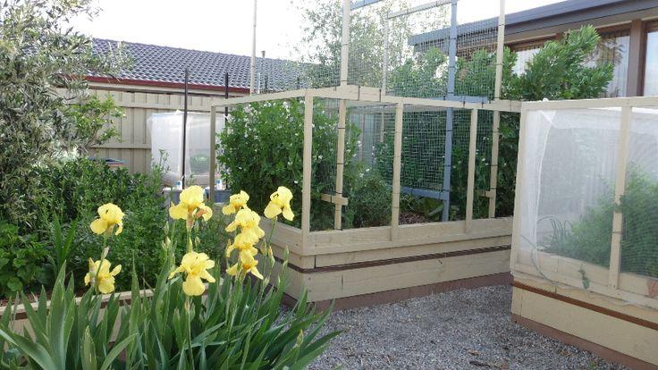 20. Gardening Ecobeds in spring