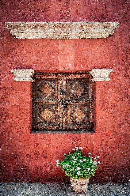 Santa Catalina Monastery - Arequipa, Peru. Explore this country through its art and culture, grab a Mario Varga Llosa's book from the shelf and check out A Literary Journey Through Peru: 5 Essential Books at TheCultureTrip.com.