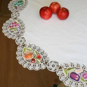 Victorian Tablecloth Embroidery Designs