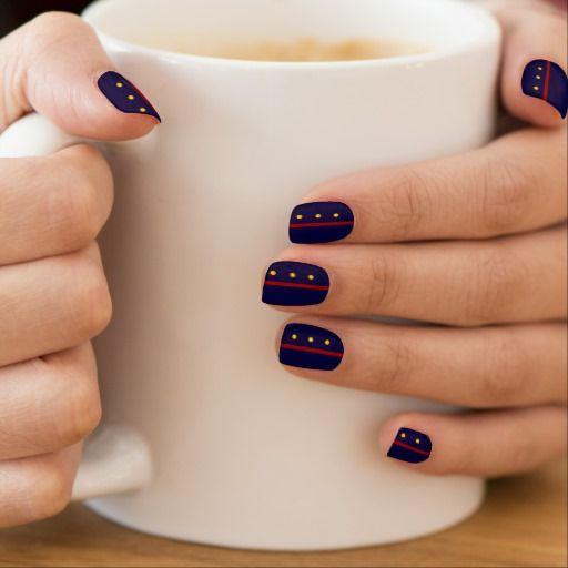 Best 25 marine nails ideas on pinterest nautical nails sailor marines nail art prinsesfo Images