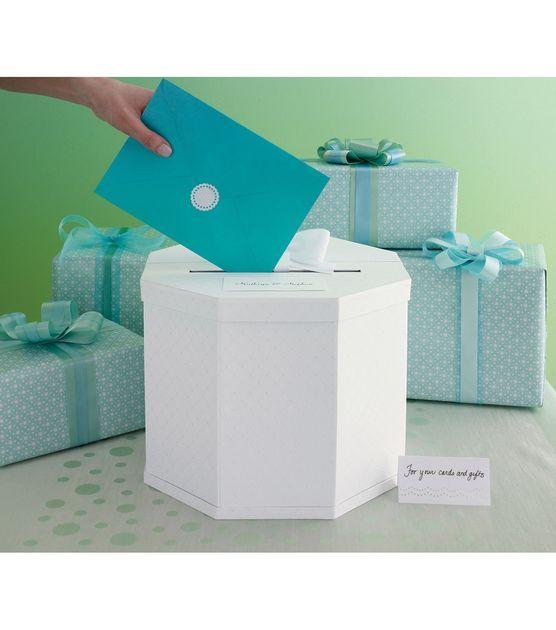 Martha Stewart Crafts Celebrate Decor Card Box,