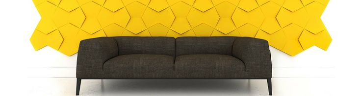 Fluffo, Fabryka Miękkich Ścian. Miękkie panele ścienne 3D, kolekcja NEXUS.