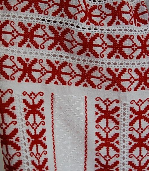 Romanian Peasant Blouses - Folk - Hand Embroidered Ie