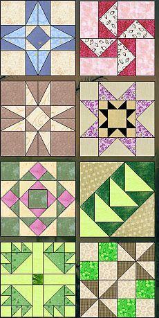 Техника пэчворк - коллекция схем для шитья / Пэчворк, лоскутное шитье, квилтинг для начинающих - техника, мастер класс, фото, схемы / КлуКлу. Рукоделие - бисероплетение, квиллинг, вышивка крестом, вязание