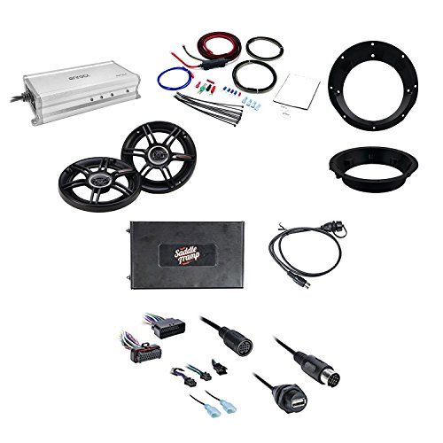 Metra Bluetooth Audio Interface for Select 2006-13 Harley Davidson Radio W/Crunch Mount Car Speakers, Metra Mounting Ring, Enrock Marine Marine Amplifier & and Scosche Motorcycle Amplifier Power Kit #Metra #Bluetooth #Audio #Interface #Select #Harley #Davidson #Radio #W/Crunch #Mount #Speakers, #Mounting #Ring, #Enrock #Marine #Amplifier #Scosche #Motorcycle #Power