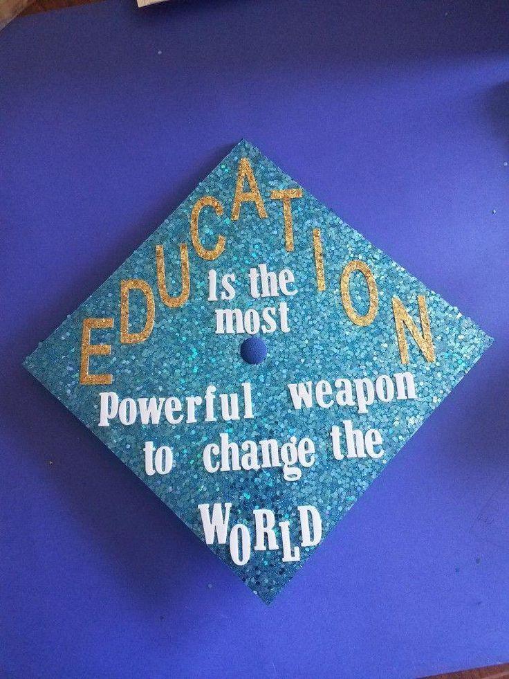 Abschlusskappe 2017 Education Major Future Teacher - Decorationn