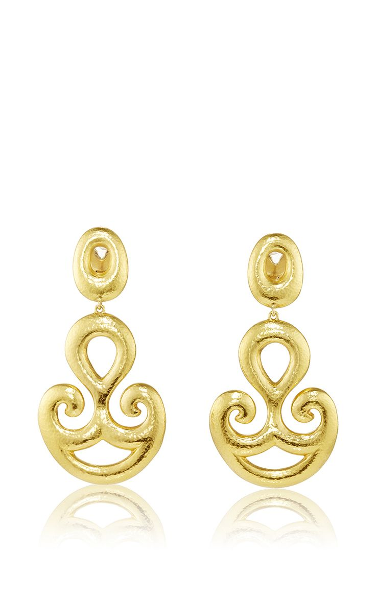 Cycladic Gold 750° Earrings by Ilias Lalaounis