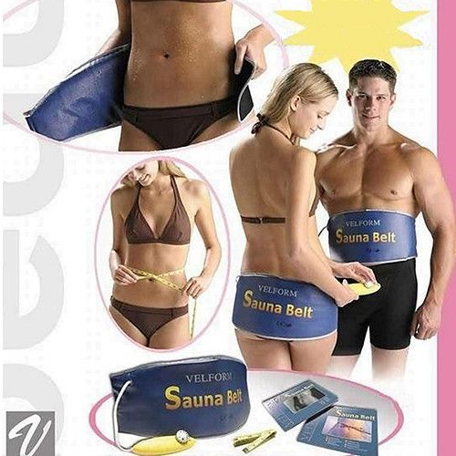 Infrared Heating Slimming Belt Sweat Band Body Sauna Weight Loss Management Idea #Unbranded