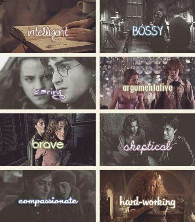 Photo: Hermione Granger is....                                                                                                                                                                                 More