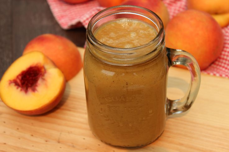 Paleo Peach Pie Smoothie
