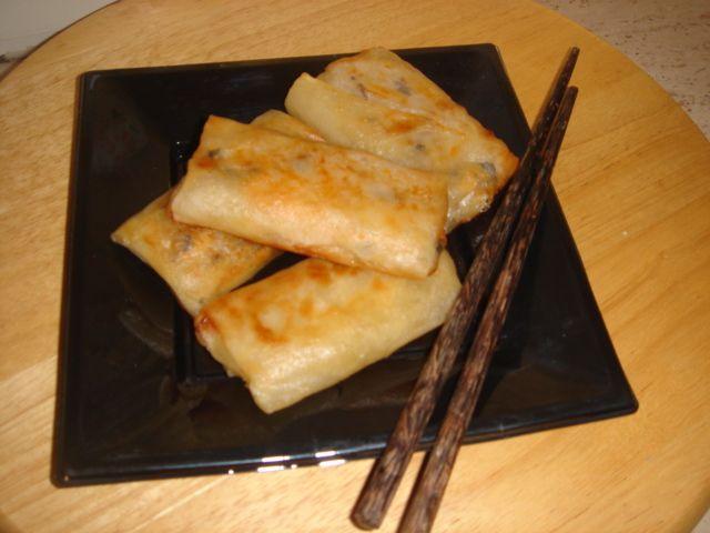 Involtini primavera ricetta della cucina cinese