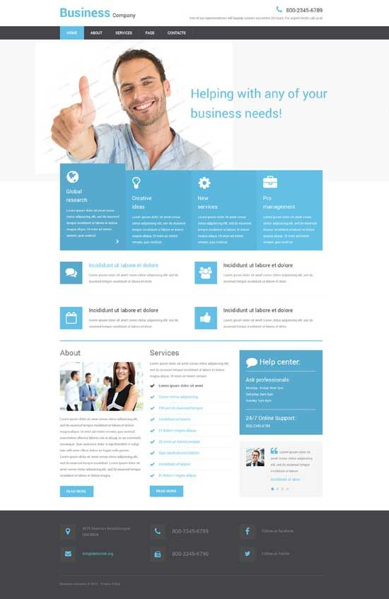 22 best Best Free Responsive HTML5 CSS3 Website Templates images - resume web template