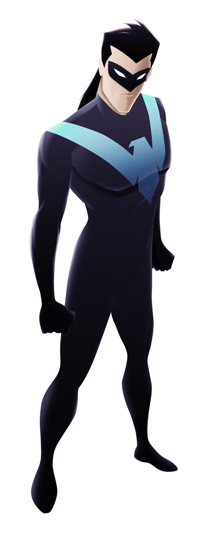 NIGHTWING - Bruce Timm Tribute on Behance