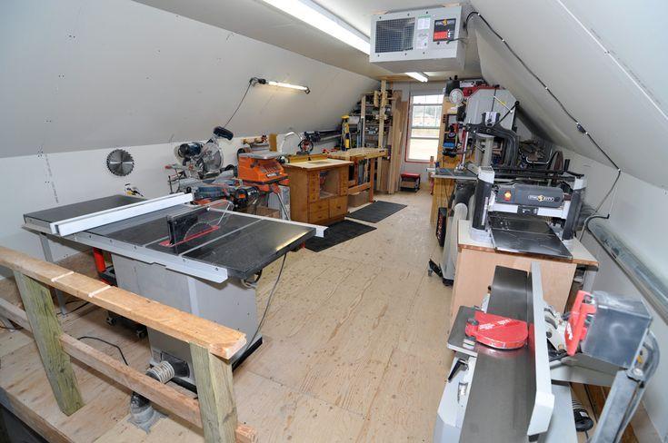 small garage woodworking shop my ideal workshop pinterest shops metals and workshop ideas. Black Bedroom Furniture Sets. Home Design Ideas